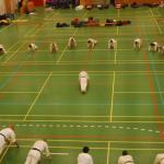 OrøHallen - besøg af Ballerup Karateklub